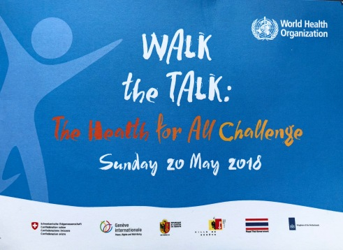 Walk the talk 1